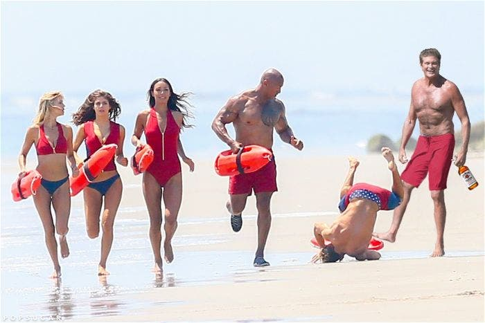 Zac Efron Trips on Baywatch Set, Turns into Hilarious Memes