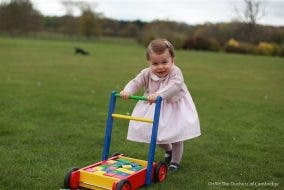 Kensington Palace Shares New Photos of Princess Charlotte