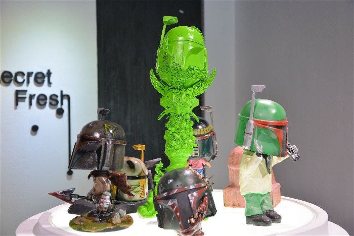 FETT BOY Custom Show by Lawrence Aliwalas and Milch Pe