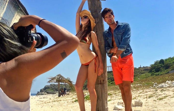 WATCH: Behind the Scenes of Top Model Photoshoot For FHM @ Fortune Island
