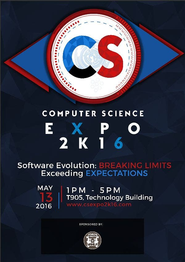 Computer Science Expo 2016