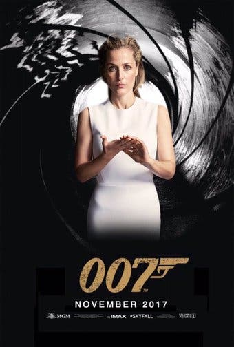 Gillian Anderson James Bond