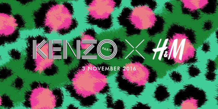 H&M to Partner with Kenzo For Latest Designer Collaboration
