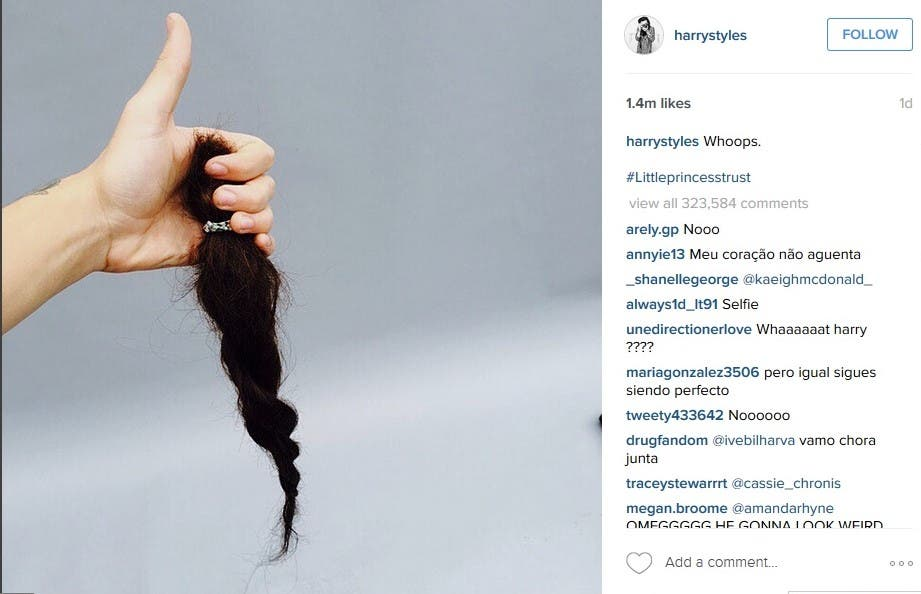 One Direction Ladies, Sorry, But Harry Styles Has Cut His Gorgeous Long Locks