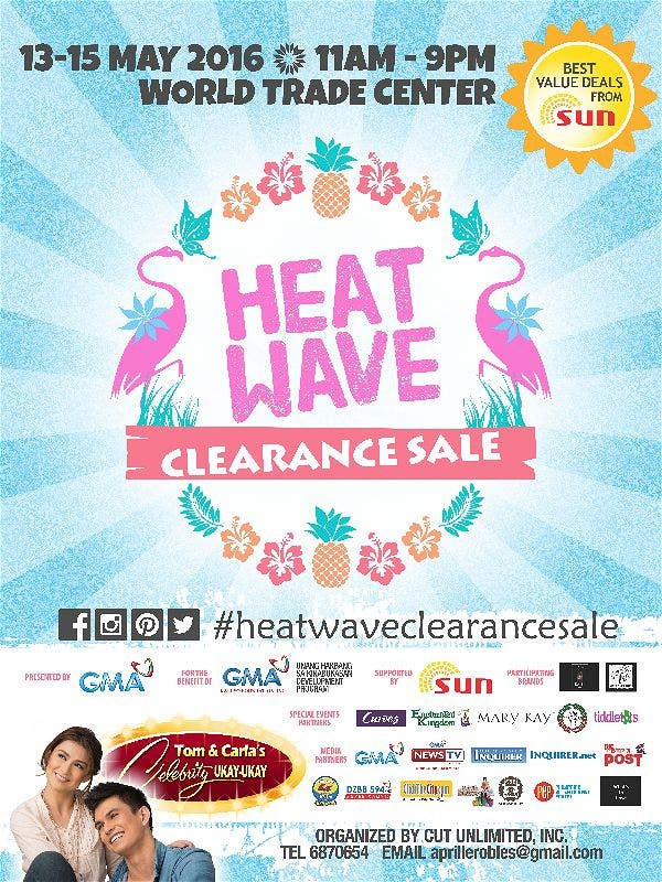 The 6th Heatwave Clearance Sale at the World Trade Center: Fashion, Demos, and More!