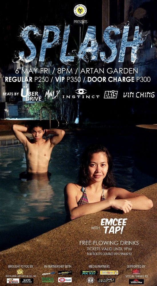 Get Ready for SPLASH, a Sem-Ender Swimming Party!