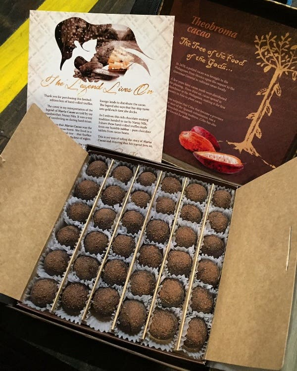 Item #2_ Boost your memory with chocolate! Snack on these luxurious truffles from The Chocolate Chamber.