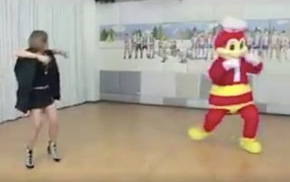 JolliDance Showdown Jollibee G-Force