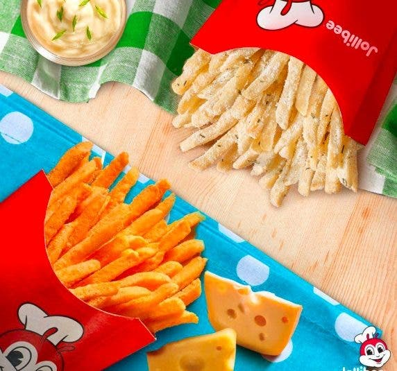 Jollibee Crispy Flavored Fries