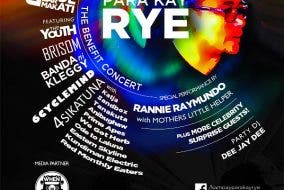 Kampay Para Kay Rye: A Benefit Concert at B-Side