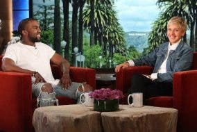 WATCH: Funny Video of Kanye West Being Kanye West on The Ellen Show