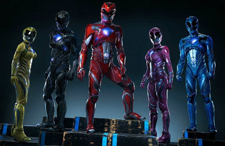 LOOK The Power Rangers Gets a New Look for Reboot