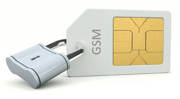Locked Sim Card