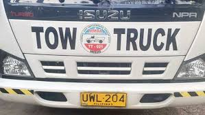 MMDA accredited tow truck