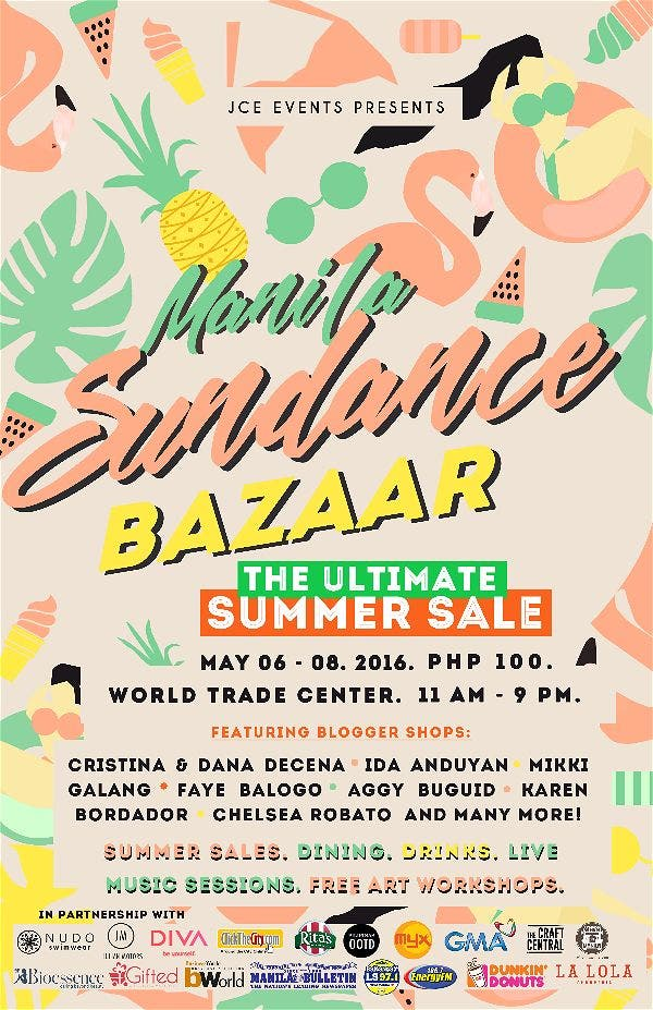 Manila Sundance Bazaar: The Ultimate Summer Sale!