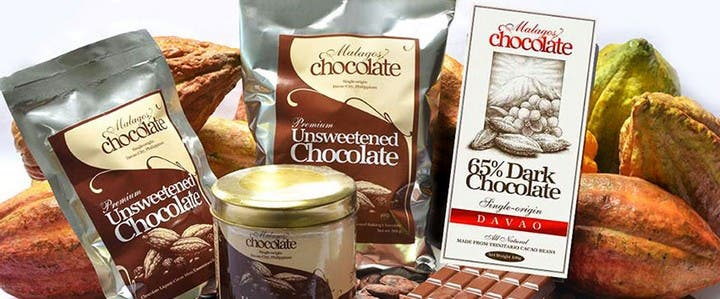 Davao's Pride, Malagos Chocolate products, are available all over the country and exported to various countries