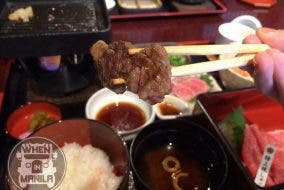 Melt in the mouth grilled wagyu beef Best Authentic Japan Wagyu Beef Experience for when in manila