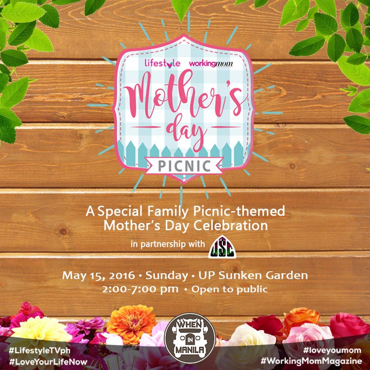 Lifestyle and Working Mom Magazine to Host a Special Picnic-Themed Mother's Day Event