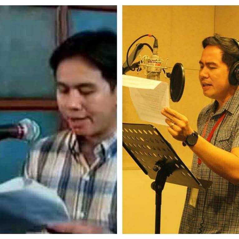 Pocholo as the freelance voice artist