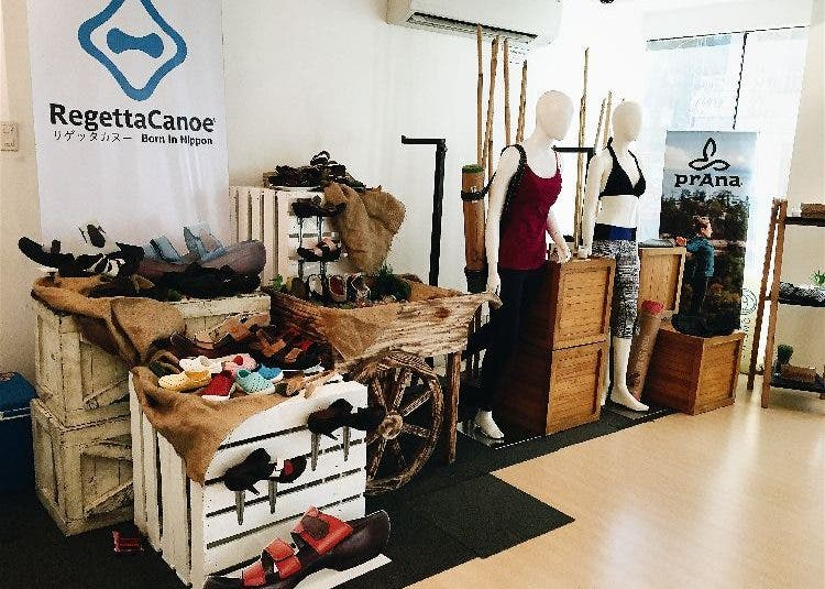 Sustainable Apparel for the Mindful Living: prAna and Regetta Canoe yoga Primer group of companies