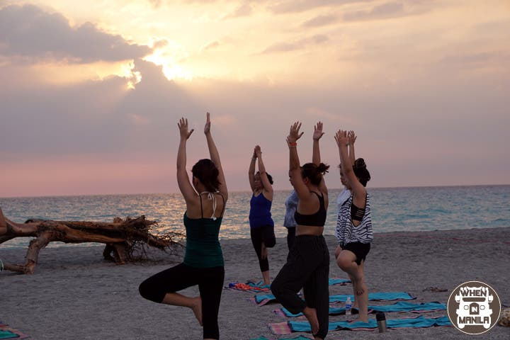 Sereia sunset yoga