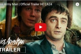 "TRAILER: Daniel Radcliffe is a Corpse in New Comedy Film ""Swiss Army Man"""