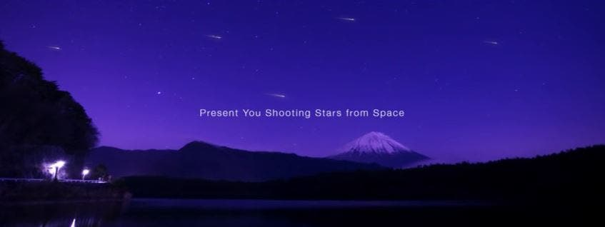 This Startup Wants to Create a Man-Made Meteor Shower for the Tokyo Olympics