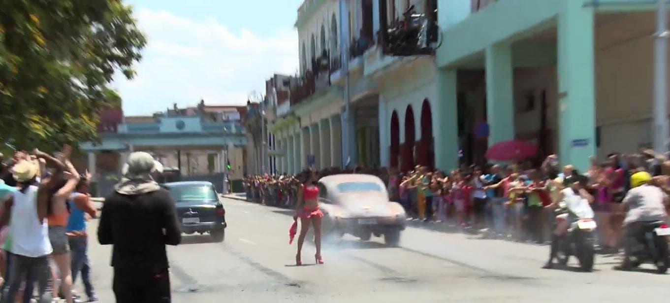WATCH Behind-the-Scenes Video of Fast and Furious 8 in Cuba