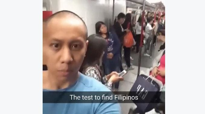 WATCH This is How You Find Filipinos Anywhere Around the World, According to Mikey Bustos