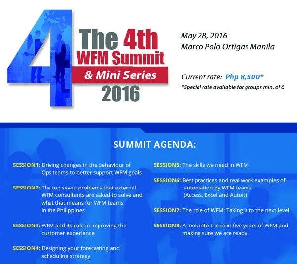 Workforce Management Summit: Discussions on Forecasting, Scheduling, Real Time Management, Budget Forecasting and More