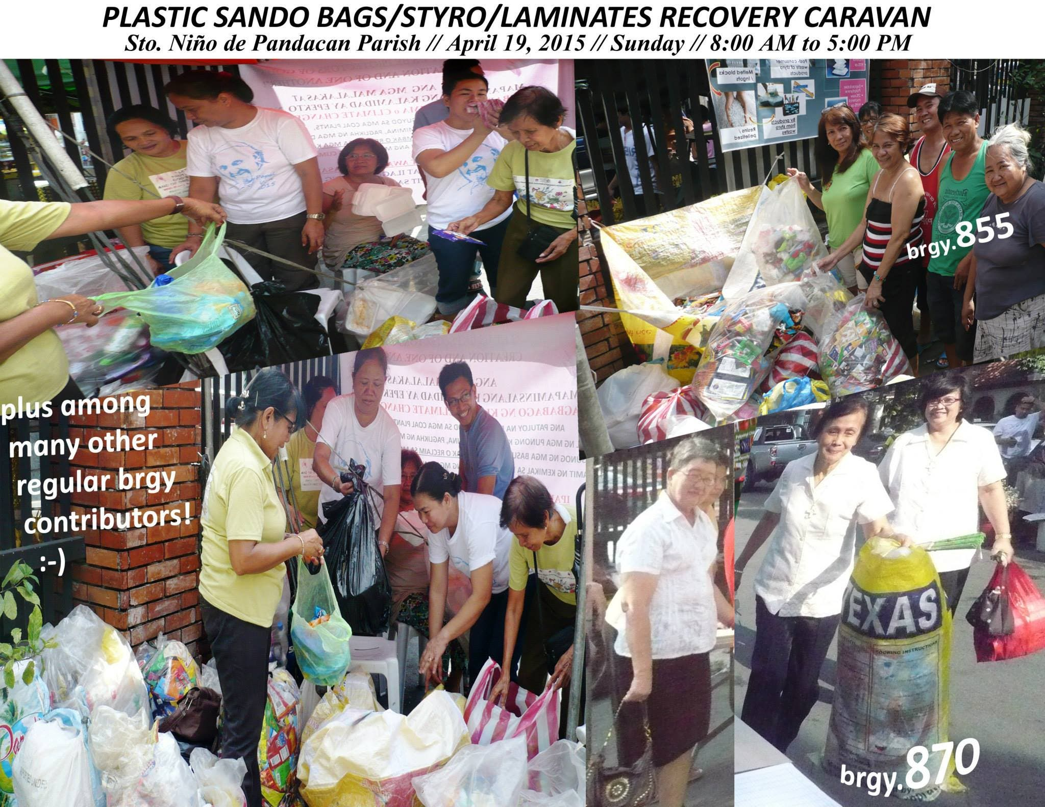 plastic waste recycling in pandacan manila