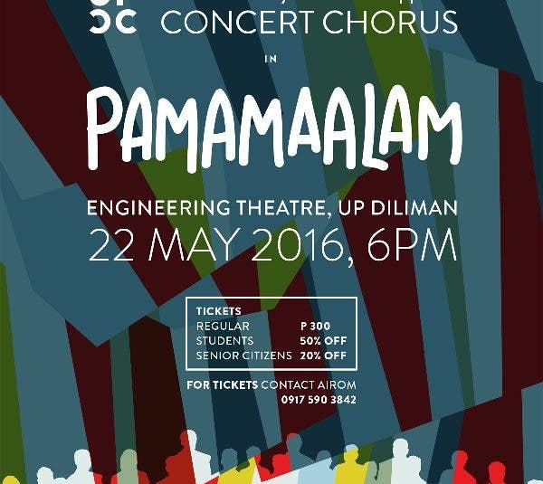 Pamamaalam: The UP Concert Chorus Farewell Concert Before their Big Tour