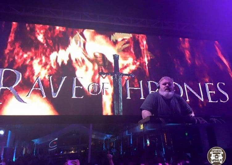 "Hold the Door! ""Rave of Thrones"" with Game of Thrones' Hodor, Kristian Nairn"