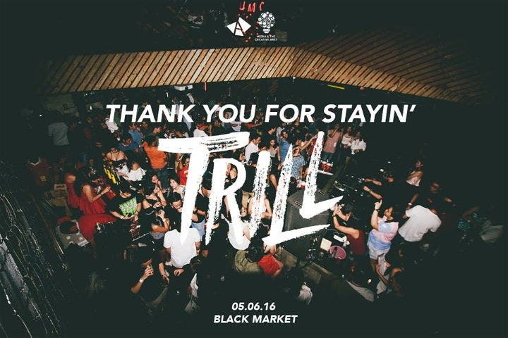 Crash Course: TRILL — Ateneo ACOMM's 13th Year Party Celebration @ Black Market