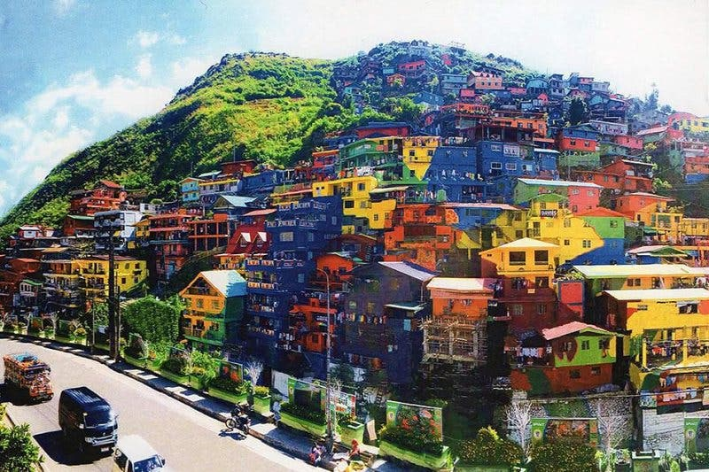Benguet colorful houses