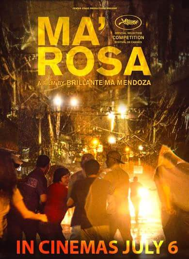 Brillante Mendoza's Ma' Rosa to be Screened in Manila
