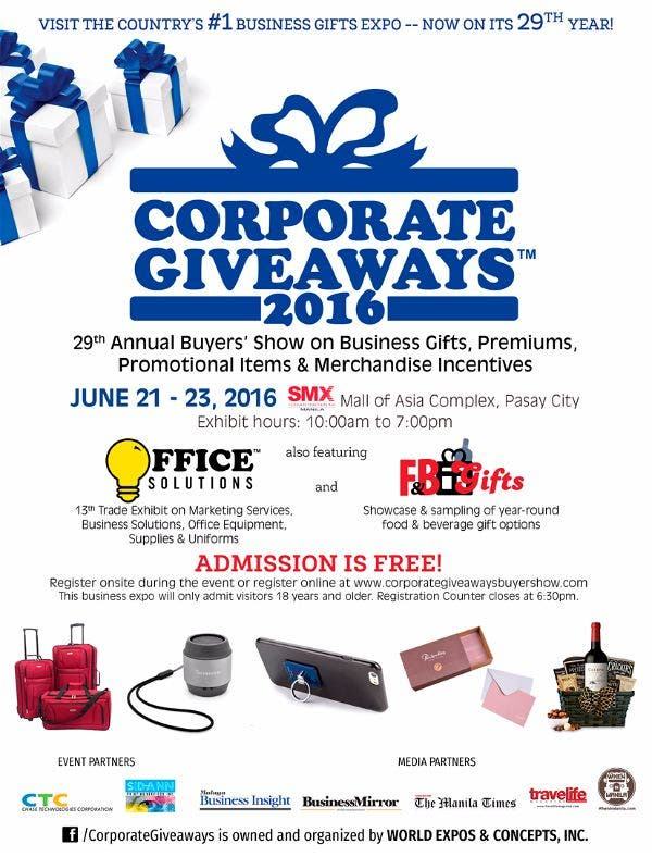Corporate Giveaways 2016: How Promotional Items Impact Companies and their Customers