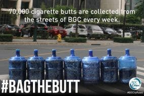 Cigarette Butts in BGC