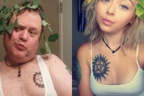 FUNNY: Dad Trolls Own Daughter by Recreating Her Selfies