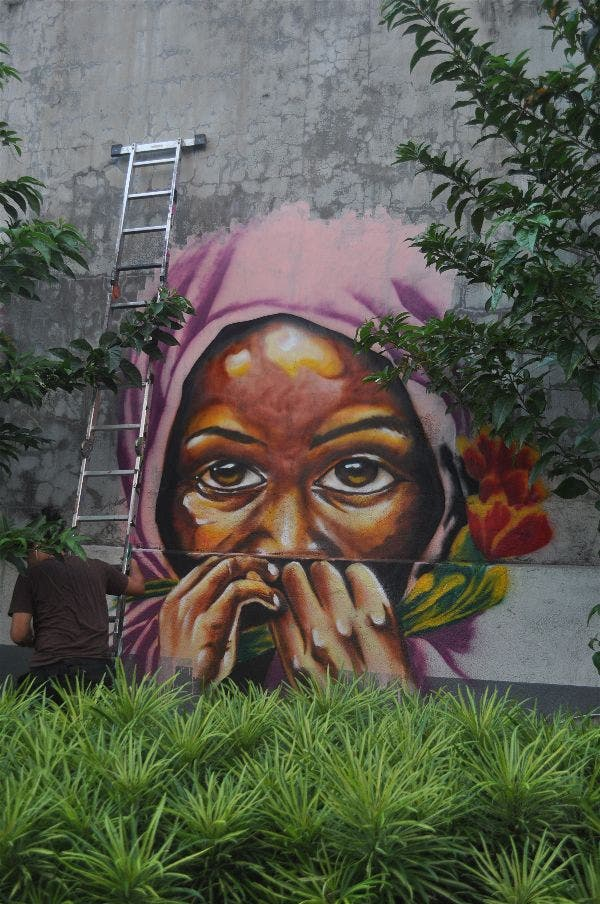 Meeting of Styles Philippines' Graffiti Event
