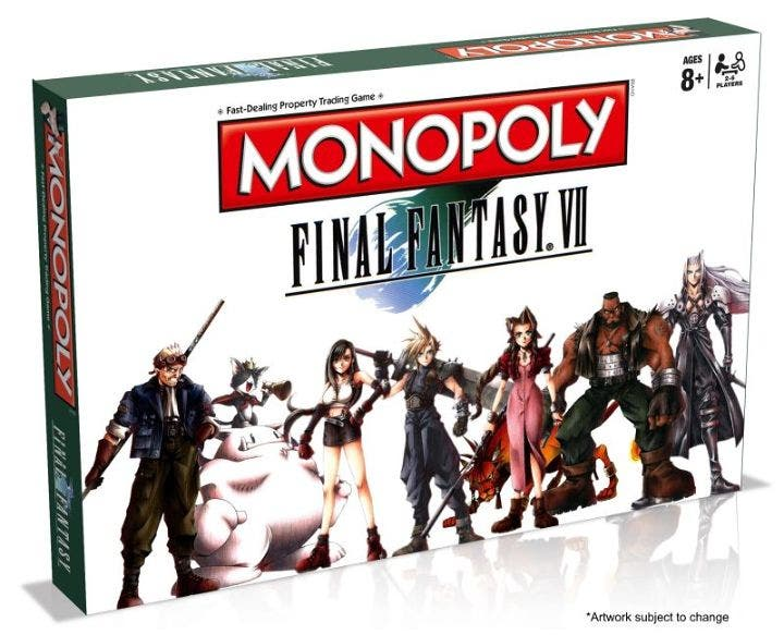 LOOK: Final Fantasy VII is Coming Soon on Monopoly!