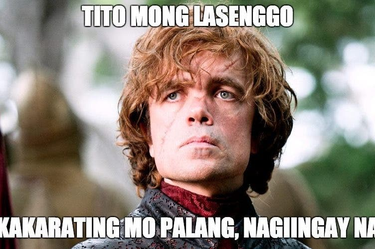 Game of Thrones Family Tyrion Lannister