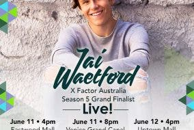 X-Factor Australia's Jai Waetford Live in Manila this June!