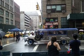 Jeep in New York
