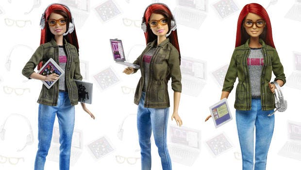 LOOK Barbie is Now a Game Developer
