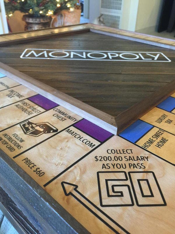 LOOK Guy Proposes Using a Customized Monopoly Board 8