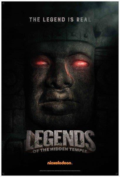 LOOK Legends of the Hidden Temple Movie Now Has Posters 3