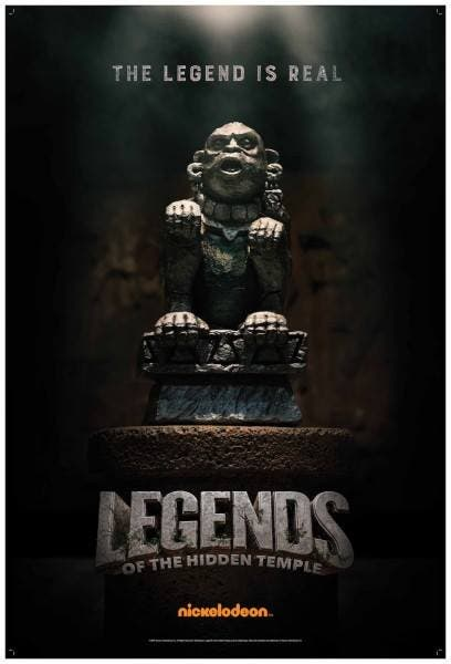 LOOK Legends of the Hidden Temple Movie Now Has Posters