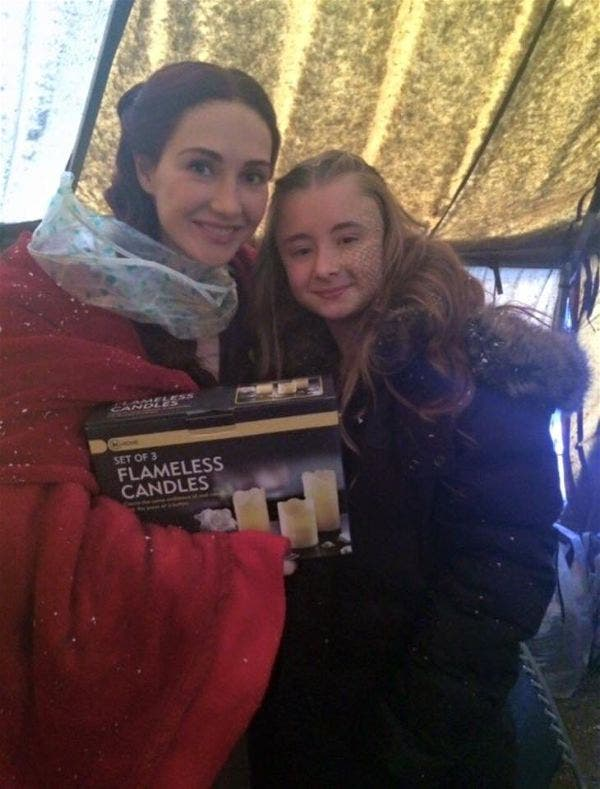 Melisandre of Game of Thrones Gave the Funniest Parting Gift For Shireen