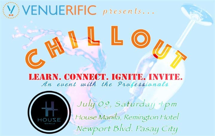 Chill-out: A Networking Event for Events and Marketing Professionals